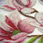 Kit with beads - Magnolia