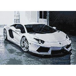 WD254 Diamond painting kit - Lamborghini