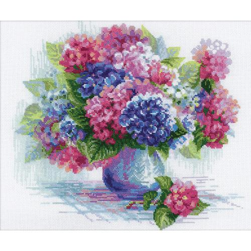Cross stitch kit - Hydrangea