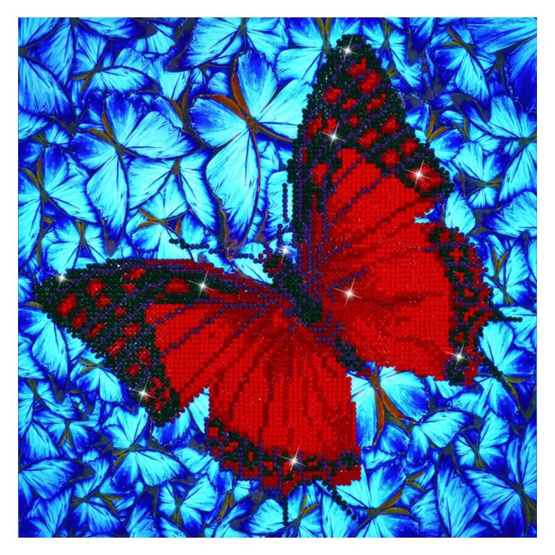 Diamond painting kit - Flutter by red