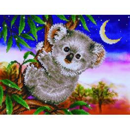 DD7.012 Diamond painting kit - Koala snack