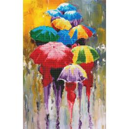Diamond painting kit - Rainy day
