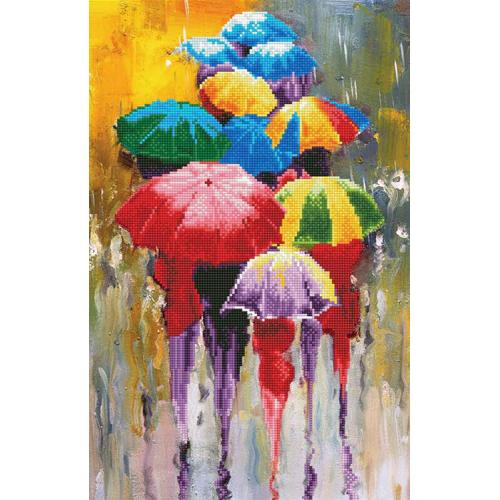 DA49385 Diamond painting kit - Rainy day