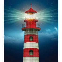 Diamond painting kit - Lighthouse