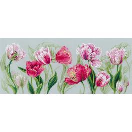 Cross stitch kit - Spring tulips