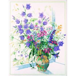 ZTM 052 Cross stitch kit - Wild flowers