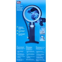 Magnifying glass with lamp LED