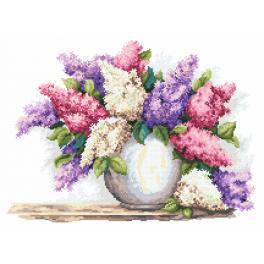 Tapestry canvas - Magic lilacs