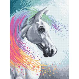 K 10203 Tapestry canvas - Enchanted horse