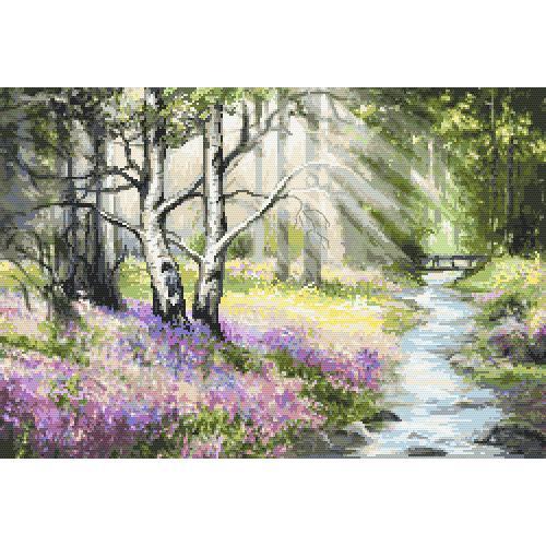 ONLINE pattern - Spring forest