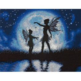 Cross stitch kit - Twilight Silhouette