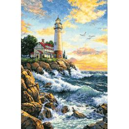 Cross stitch kit - Rocky point