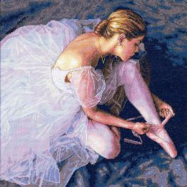 Cross stitch kit - Ballerina beauty