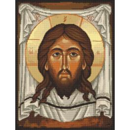 Cross stitch pattern - Icon of Christ