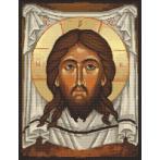 Cross stitch pattern - Icon of Christ