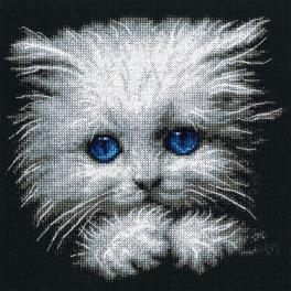 Cross stitch set - Fluffy