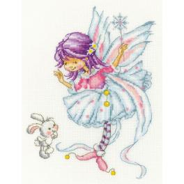 Cross stitch kit - Make a wish