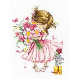 Cross stitch kit - For you