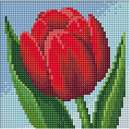 M AZ-1634 Diamond painting kit - Tulip