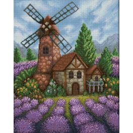 Diamond painting kit - Old windmill