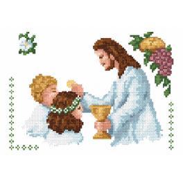 Online pattern - My First Holy Sacrament