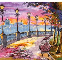 OV 1007 Cross stitch kit - Embankment