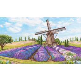 OV 1040 Cross stitch kit - Wind romance