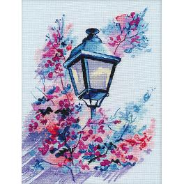 OV 1118 Cross stitch kit - Evening light