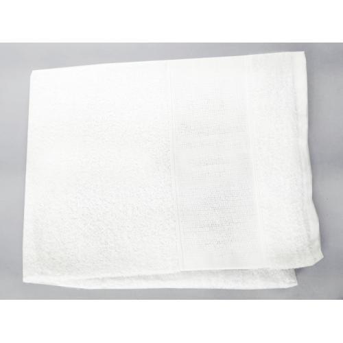 Towel frotte white 50x100 cm