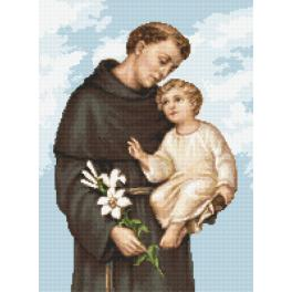 Cross stitch pattern - Saint Anthony