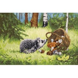 RZ 036 Cross stitch kit - Hedgehog