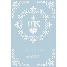 Z 8963 Cross stitch kit - In rememberance of First Communion