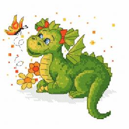 Cross stitch kit - Dragon dreams