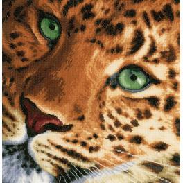 LPN-0155213 Cross stitch kit - Leopard