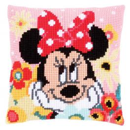 VPN-0167643 Cross stitch tapestry kit - Cushion - Minnie daydreaming