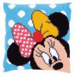 Cross stitch kit - Pillow - Minnie peek-a-boo