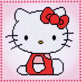 Diamond painting kit - Hello Kitty