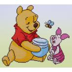 VPN-0175277 Diamond painting kit - Pooh with Piglet