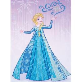 Diamond painting kit - Ice magic Elsa