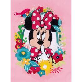 Diamond painting kit - Minnie shushing