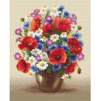 GC 8965 Cross stitch pattern - Field bouquet