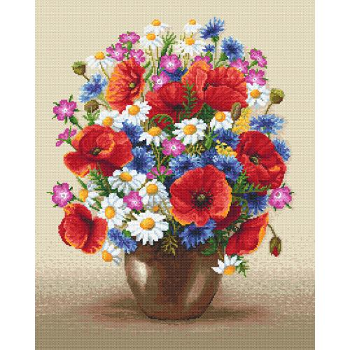 Tapestry canvas - Field bouquet
