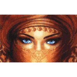RF 013 Cross stitch kit - Gaze