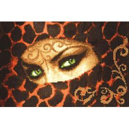RF 014 Cross stitch kit - Gaze