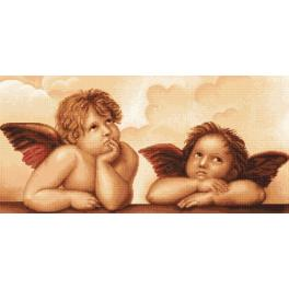 LS B319 Cross stitch kit - Angels by MIchelangelo