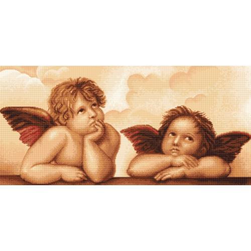 Cross stitch kit - Angels by MIchelangelo