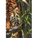 Cross stitch kit - Tiger