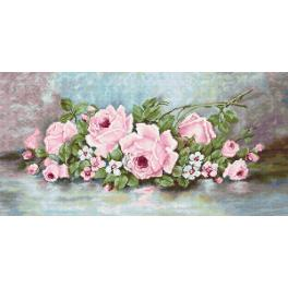 LS B584 Cross stitch kit - Roses