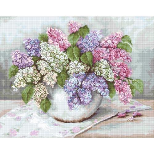 Cross stitch kit - Lilacs