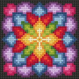 Diamond painting kit - Rosette